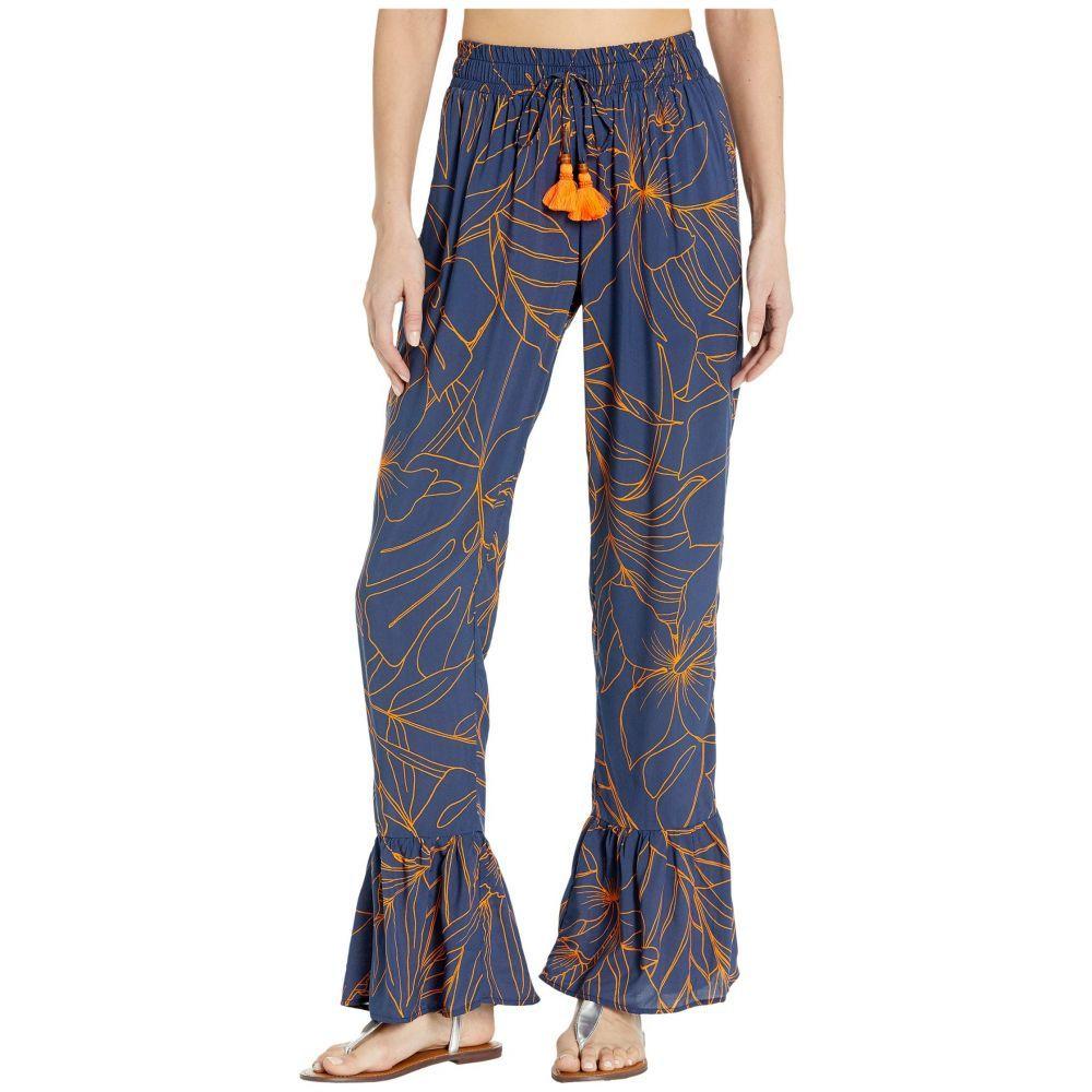 マージ Maaji レディース ビーチウェア ボトムス・パンツ 水着・ビーチウェア【Ocean Blue Pants Cover-Up】Ink Blue