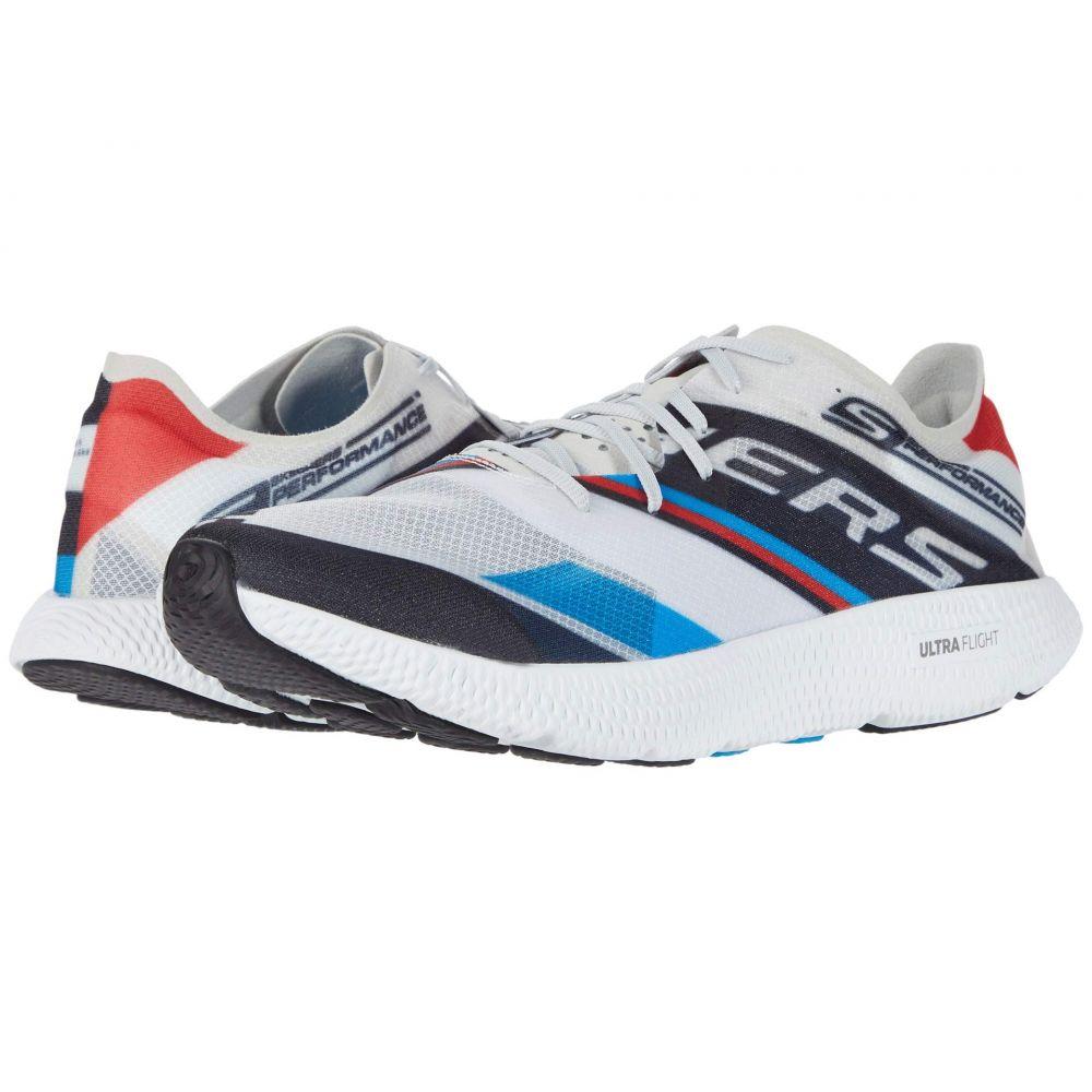 スケッチャーズ SKECHERS メンズ ランニング・ウォーキング シューズ・靴【Go Run Horizon - Vanish】White/Blue/Red