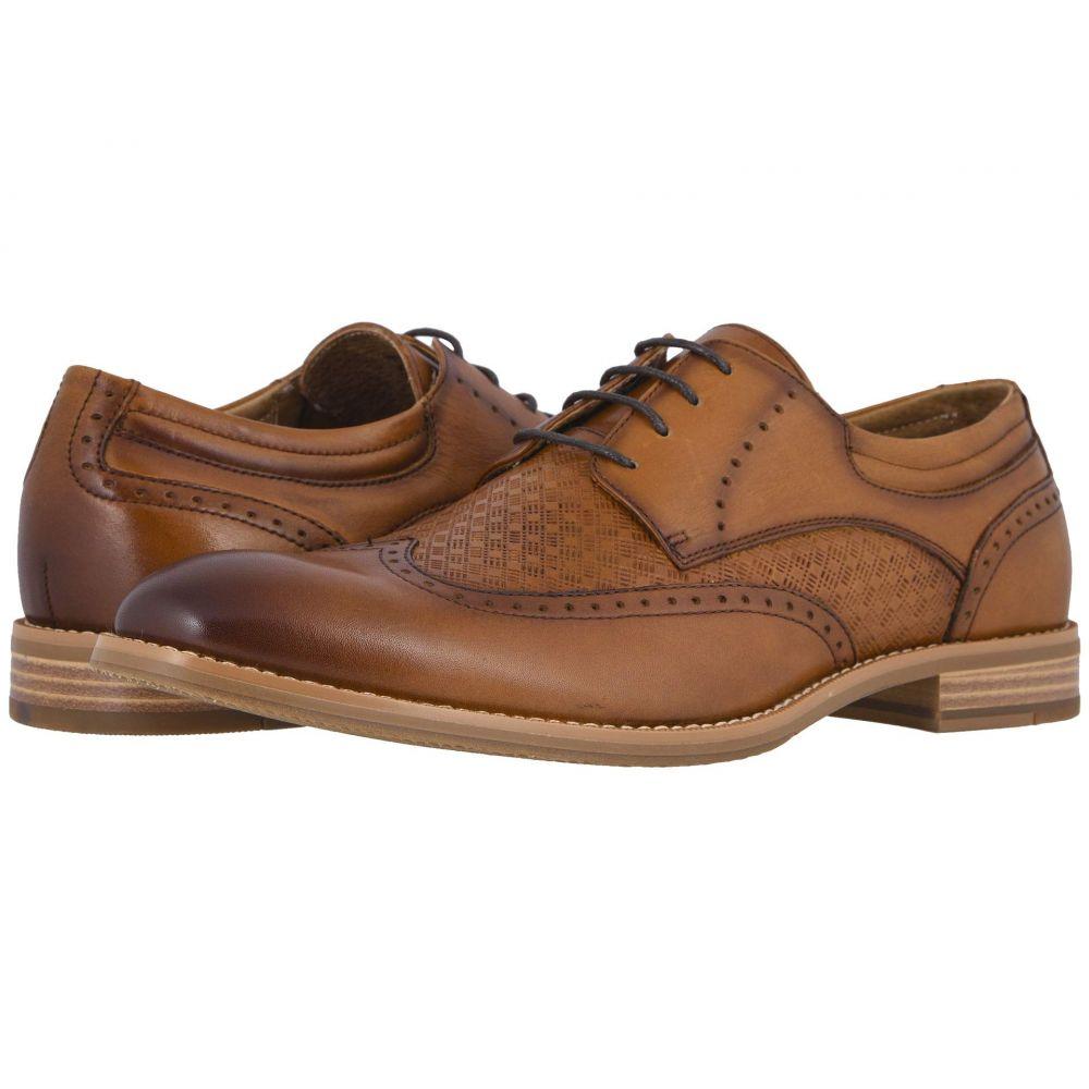 ステイシー アダムス Stacy Adams メンズ 革靴・ビジネスシューズ ウイングチップ シューズ・靴【Fallon Wing Tip Oxford】Tan