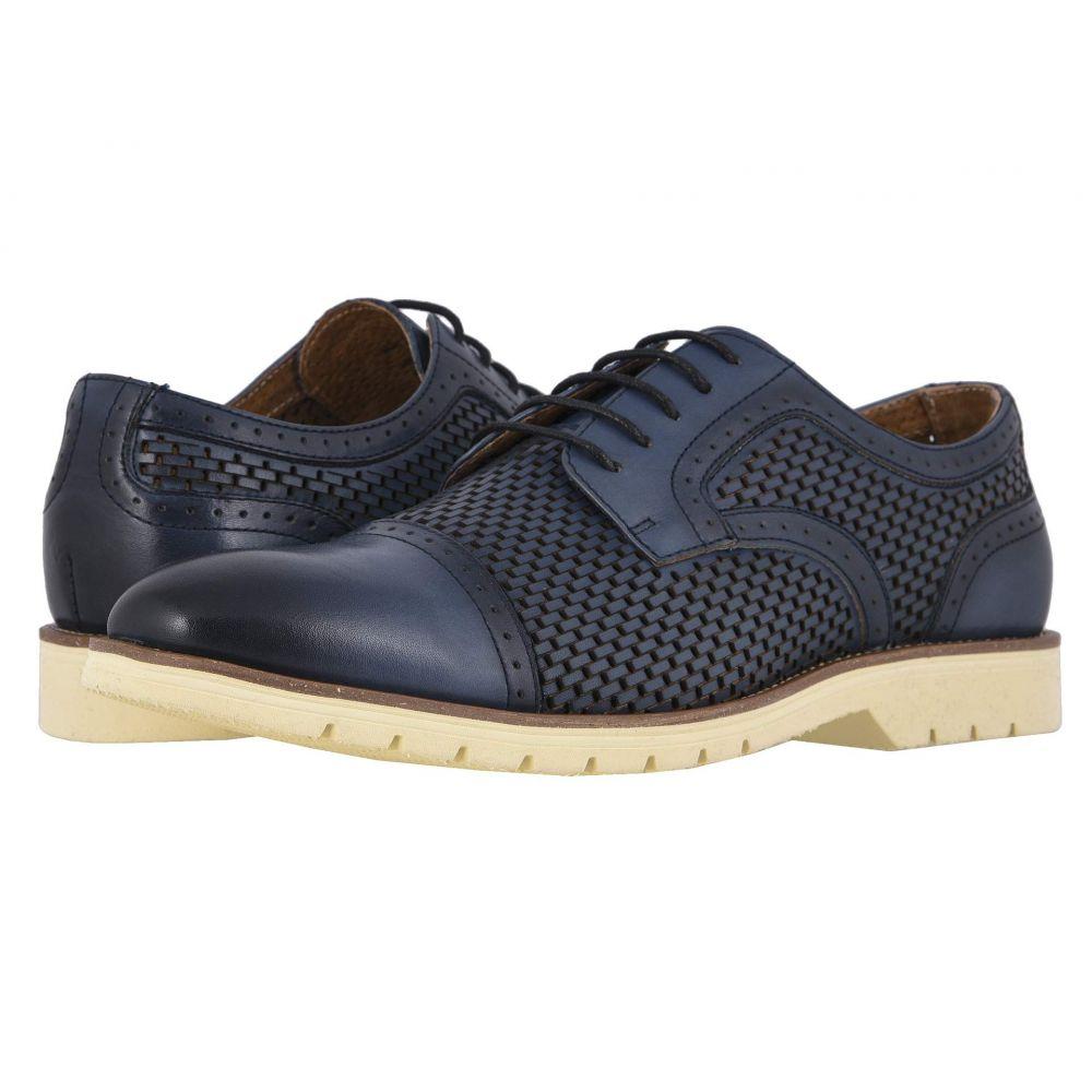 ステイシー アダムス Stacy Adams メンズ 革靴・ビジネスシューズ シューズ・靴【Ellery Cap Toe Oxford】Blue