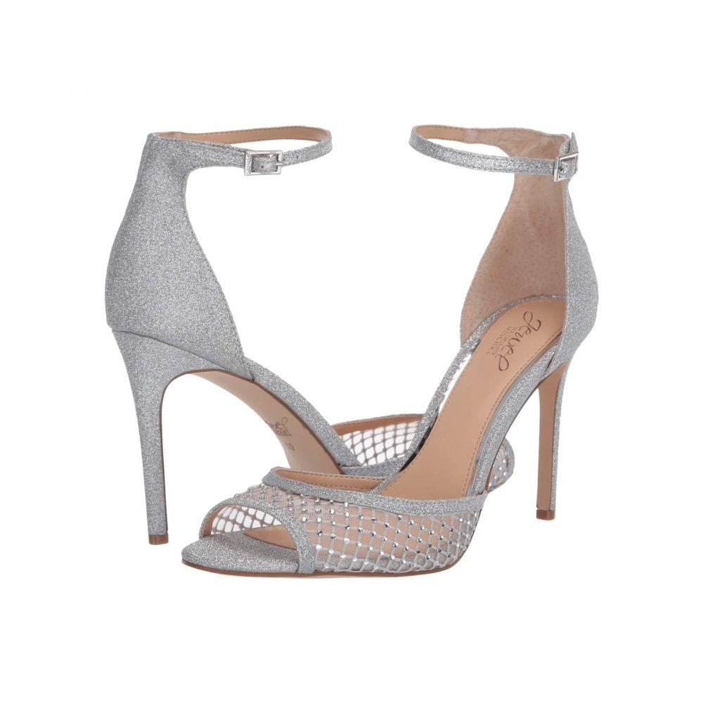 バッジェリー ミシュカ Jewel Badgley Mischka レディース サンダル・ミュール シューズ・靴【Nakisha】Silver