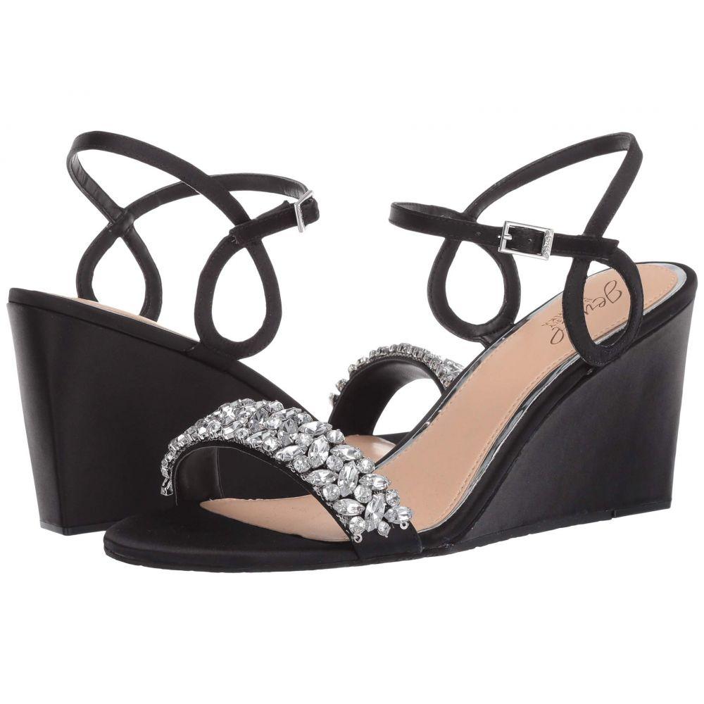 バッジェリー ミシュカ Jewel Badgley Mischka レディース サンダル・ミュール シューズ・靴【Noralie】Black