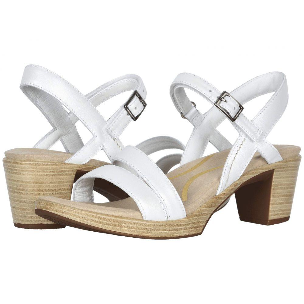 ナオト Naot レディース サンダル・ミュール シューズ・靴【Bounty】White Pearl Leather
