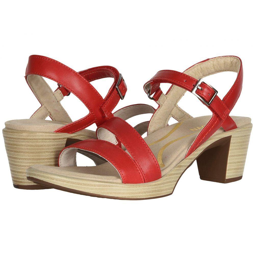 ナオト Naot レディース サンダル・ミュール シューズ・靴【Bounty】Kiss Red Leather