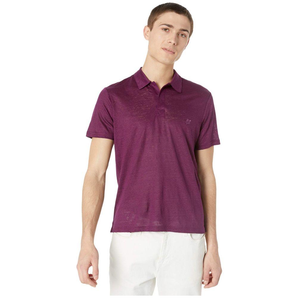 ヴィルブレクイン Vilebrequin メンズ ポロシャツ トップス【Solid Linen Jersey Polo】Kerala