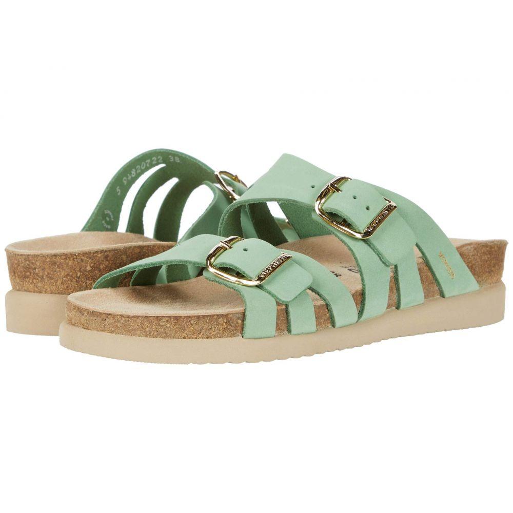 メフィスト Mephisto レディース サンダル・ミュール シューズ・靴【Helisa】Mint Sandalbuck