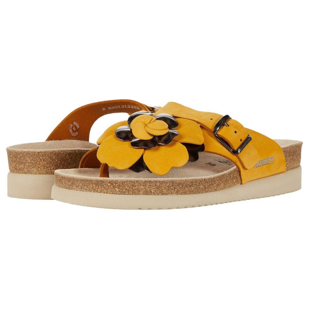 メフィスト Mephisto レディース サンダル・ミュール シューズ・靴【Helen Flower】Ochre Sandalbuck