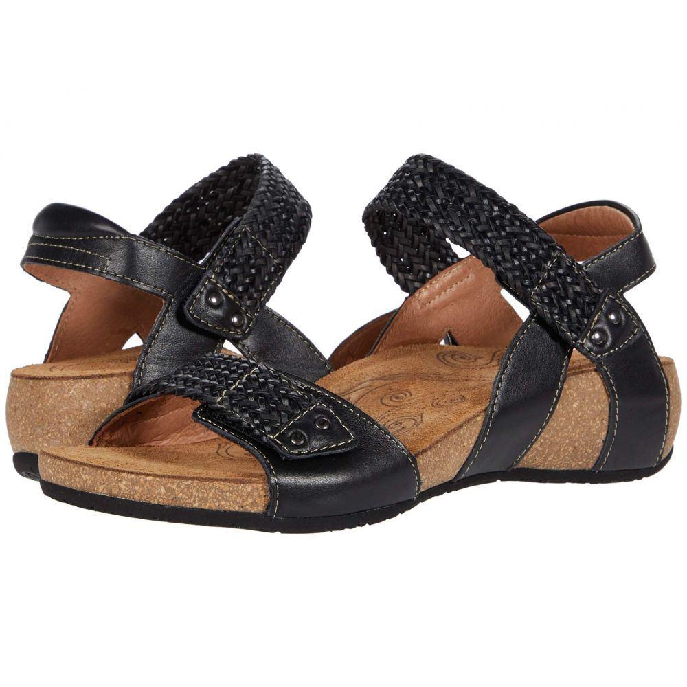 タオス Taos Footwear レディース サンダル・ミュール シューズ・靴【Bonnie】Black