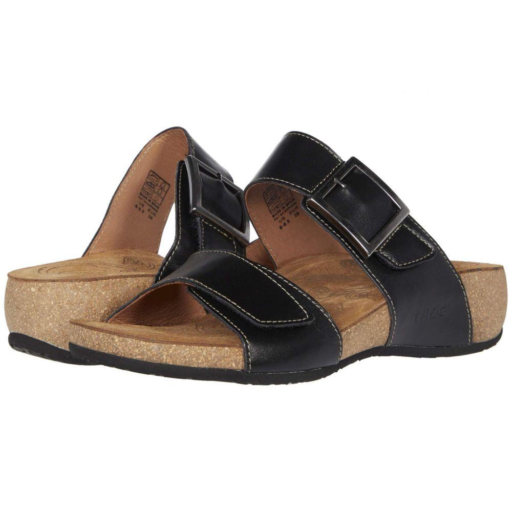 タオス Taos Footwear レディース サンダル・ミュール シューズ・靴【My Dear】Black