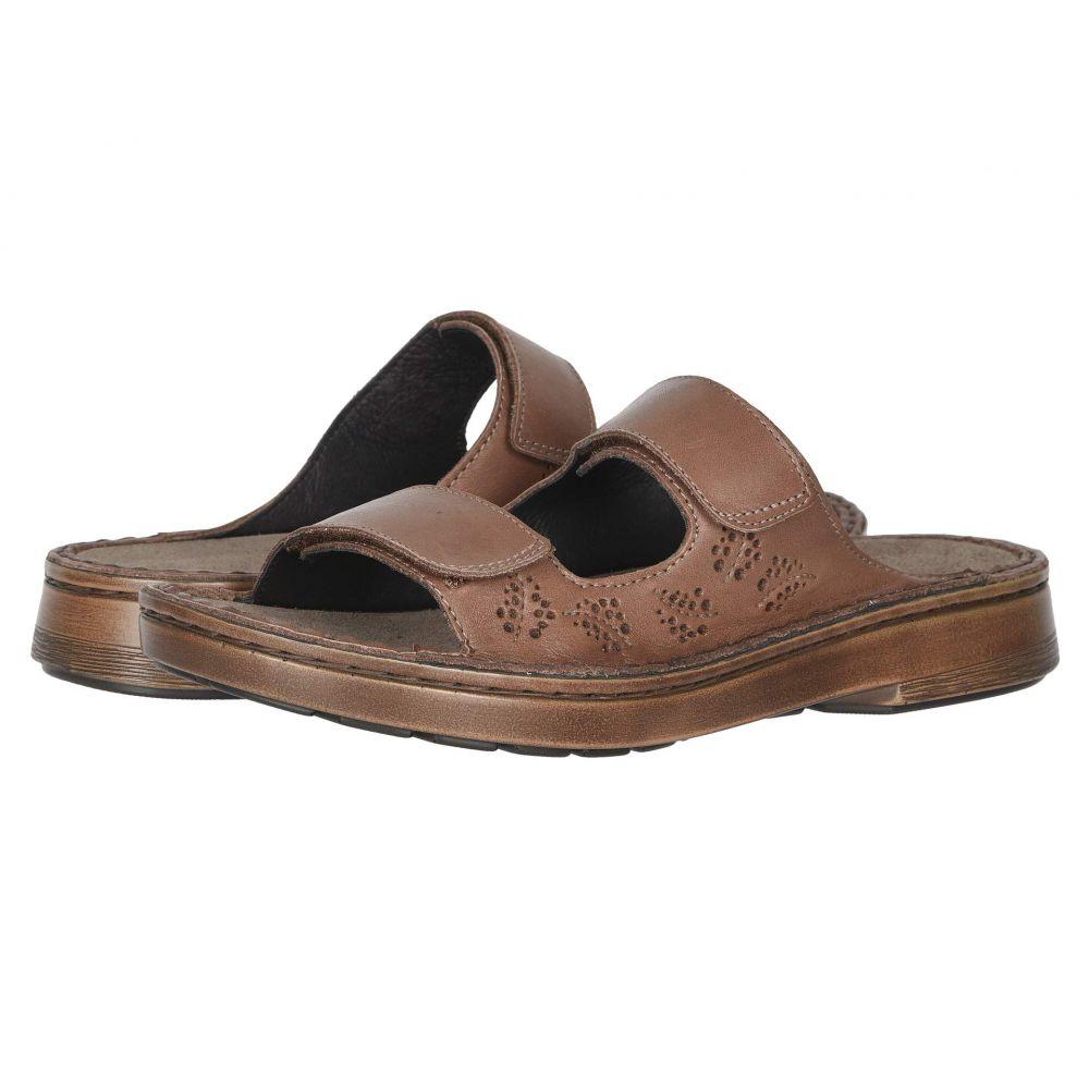 ナオト Naot レディース サンダル・ミュール シューズ・靴【Trancoso】Mocha Rose Leather/Glass Silver