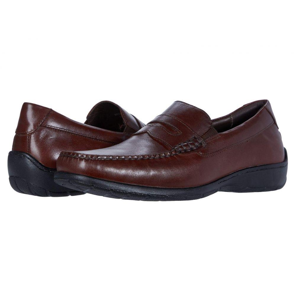 ジョンストン&マーフィー Johnston & Murphy メンズ ローファー シューズ・靴【Crawford Penny】Mahogany Full Grain