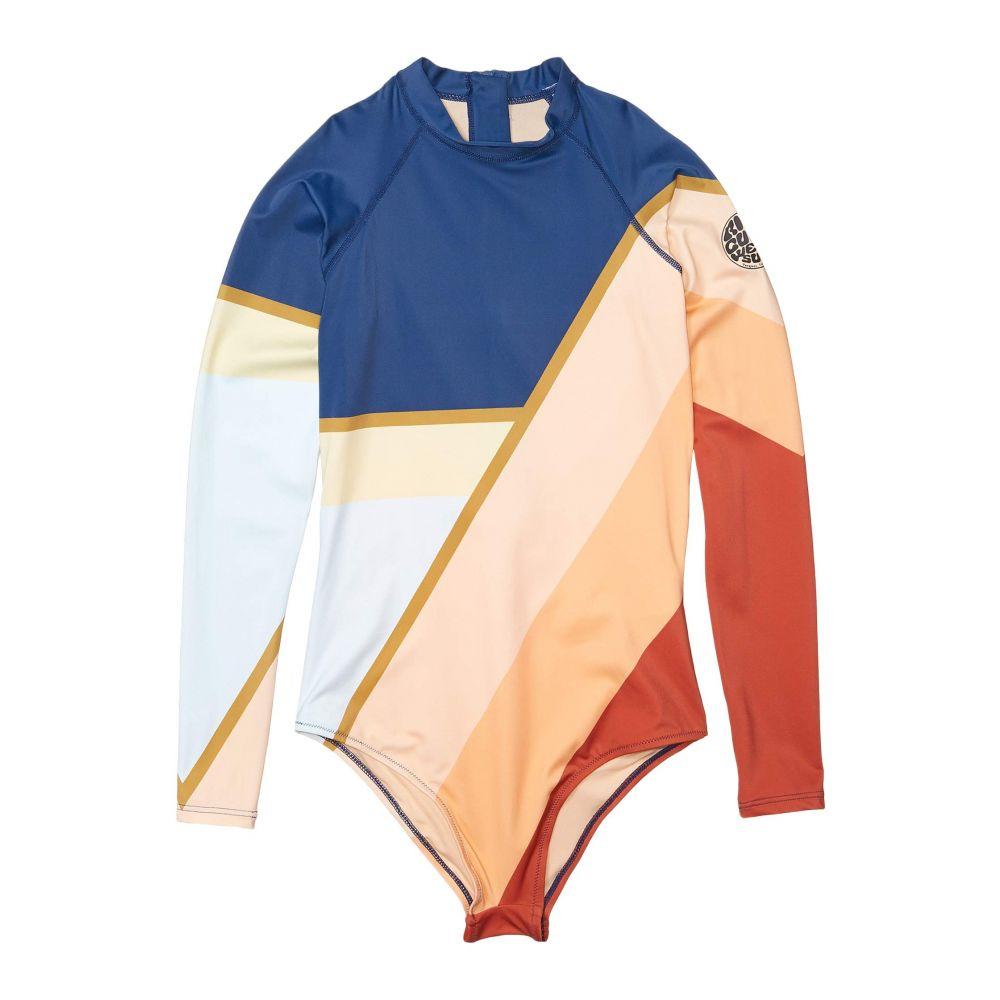 リップカール Rip Curl レディース ワンピース 水着・ビーチウェア【Long Sleeve Cheeky Surfsuit】Navy