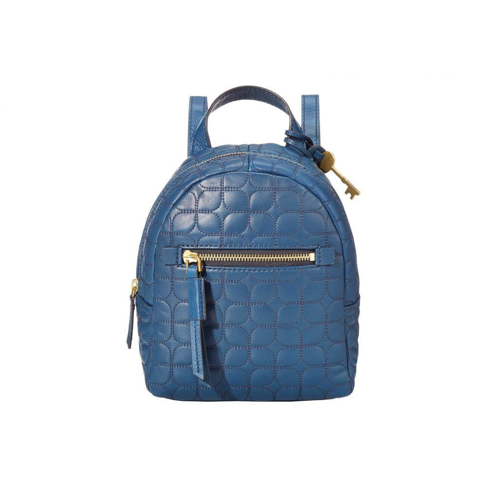 フォッシル Fossil レディース バックパック・リュック バッグ【Megan Mini Backpack】Twilight Blue