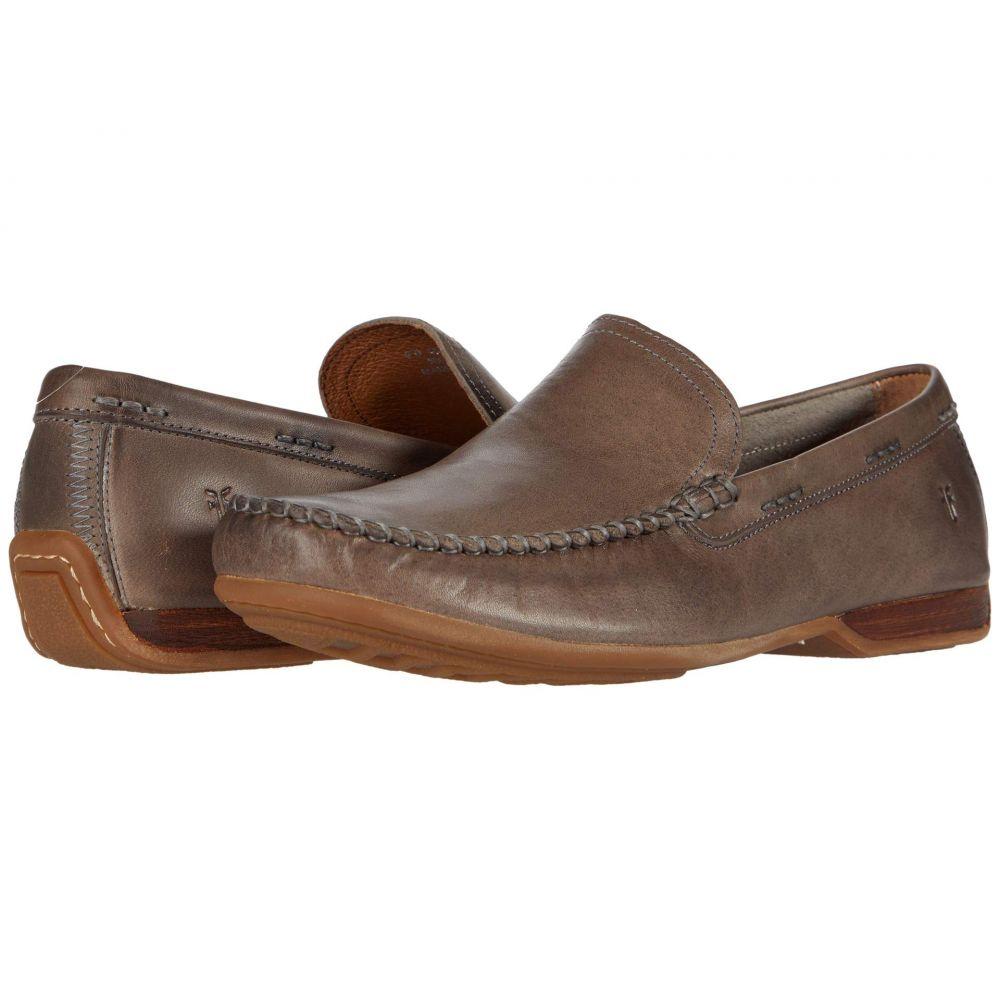 フライ Frye メンズ ローファー シューズ・靴【Lewis Venetian】Stone Antique Pull Up