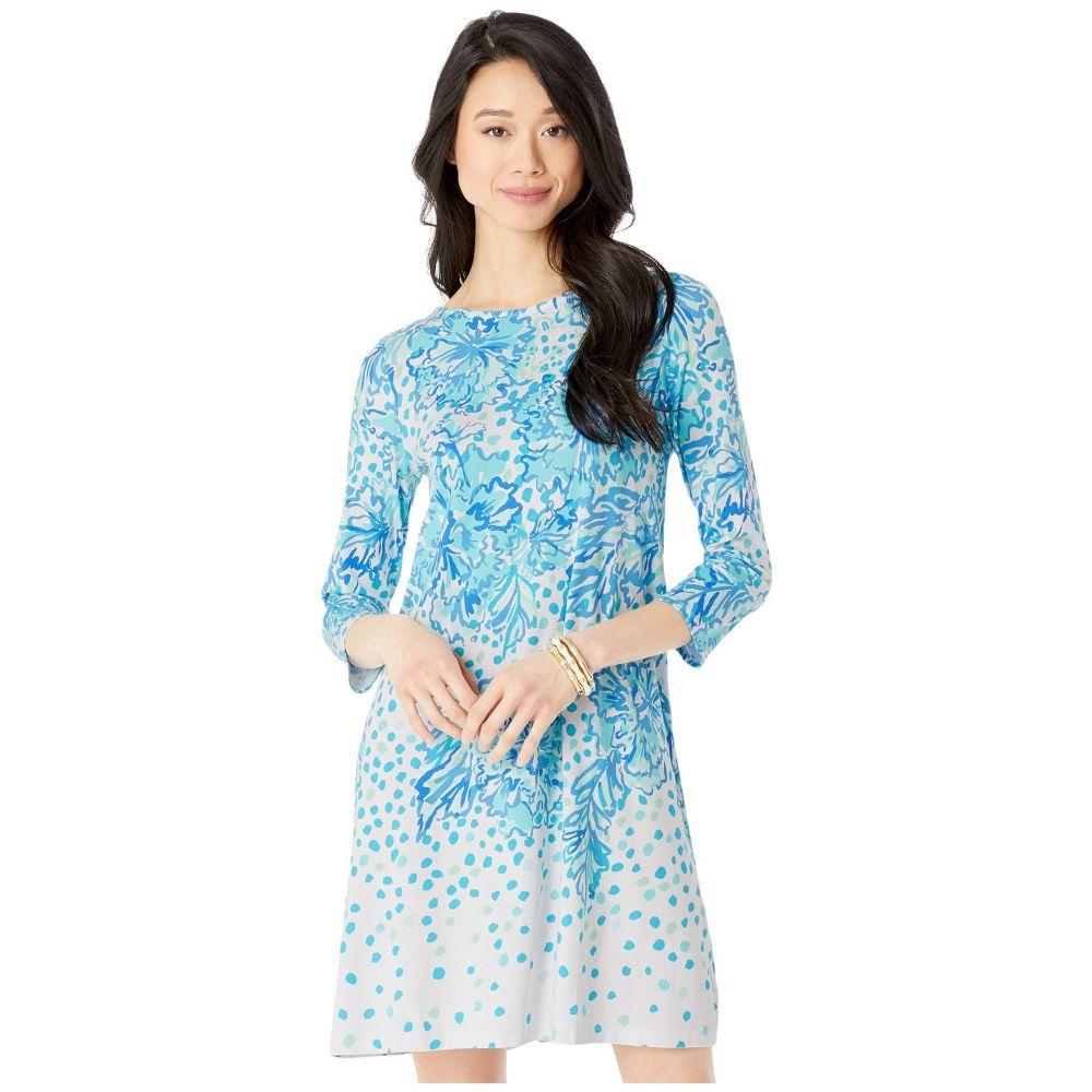 リリーピュリッツァー Lilly Pulitzer レディース ワンピース ワンピース・ドレス【Ophelia Dress】Resort White Karma Camellia Engineered