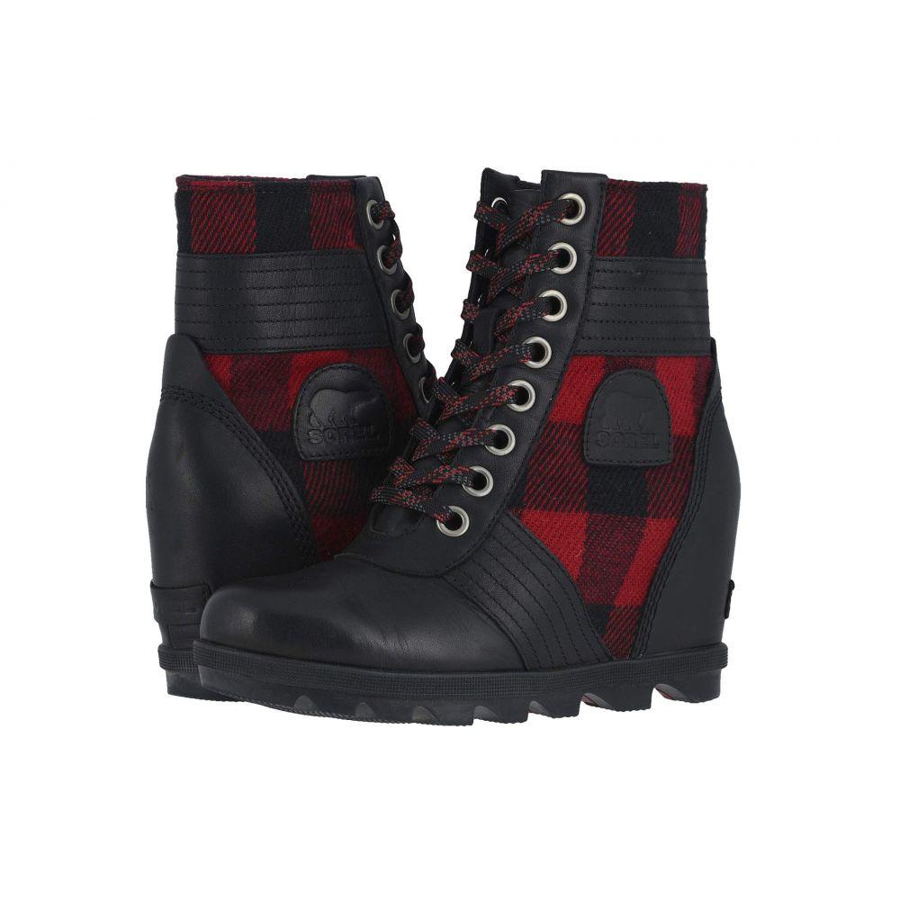 ソレル SOREL レディース ブーツ ウェッジソール シューズ・靴【Lexie(TM) Wedge】Tartan, Black