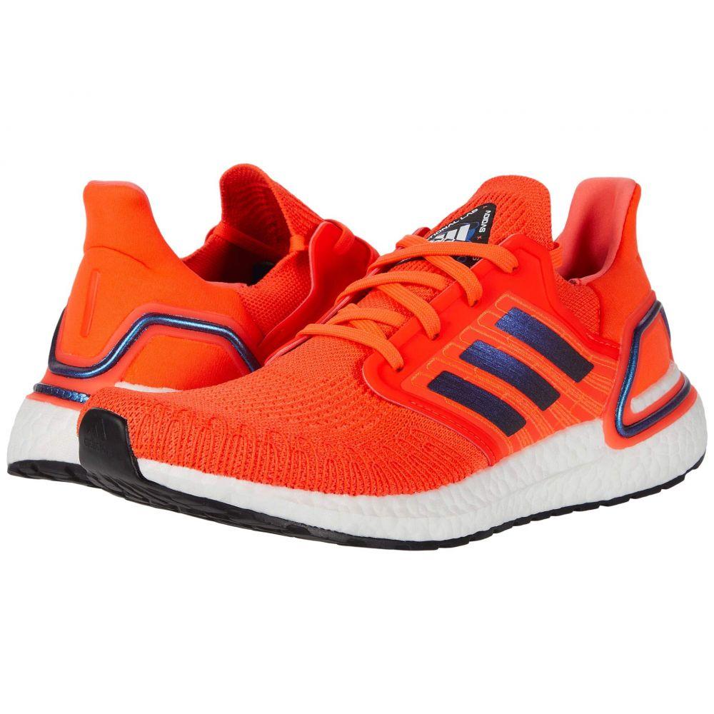 アディダス adidas Running メンズ ランニング・ウォーキング シューズ・靴【Ultraboost 20】Solar Red/Boost Blue Violet Metallic/Footwear White