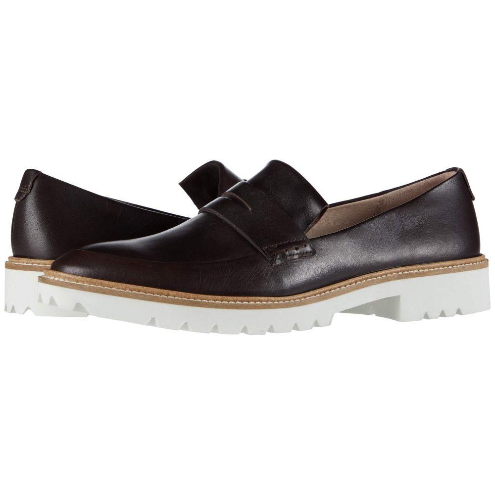 エコー ECCO レディース スリッポン・フラット シューズ・靴【Incise Tailored Slip-On】Coffee Cow Leather