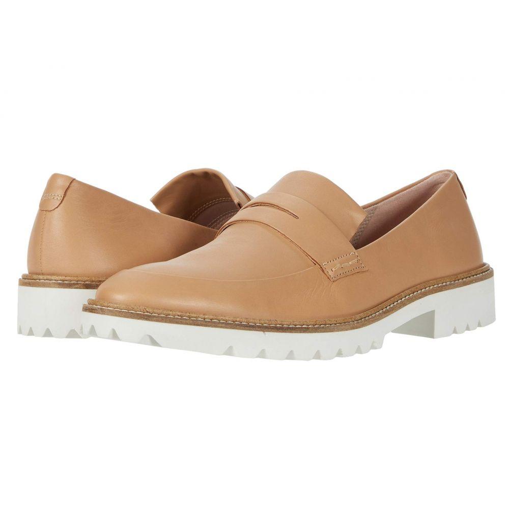 エコー ECCO レディース スリッポン・フラット シューズ・靴【Incise Tailored Slip-On】Latte Cow Leather