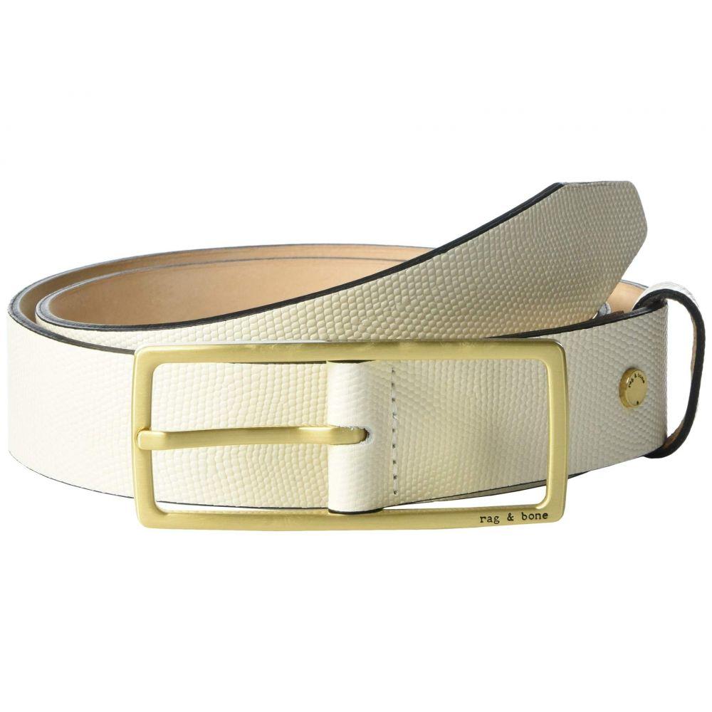 ラグ&ボーン rag & bone レディース ベルト 【Rebound Belt】Antique White
