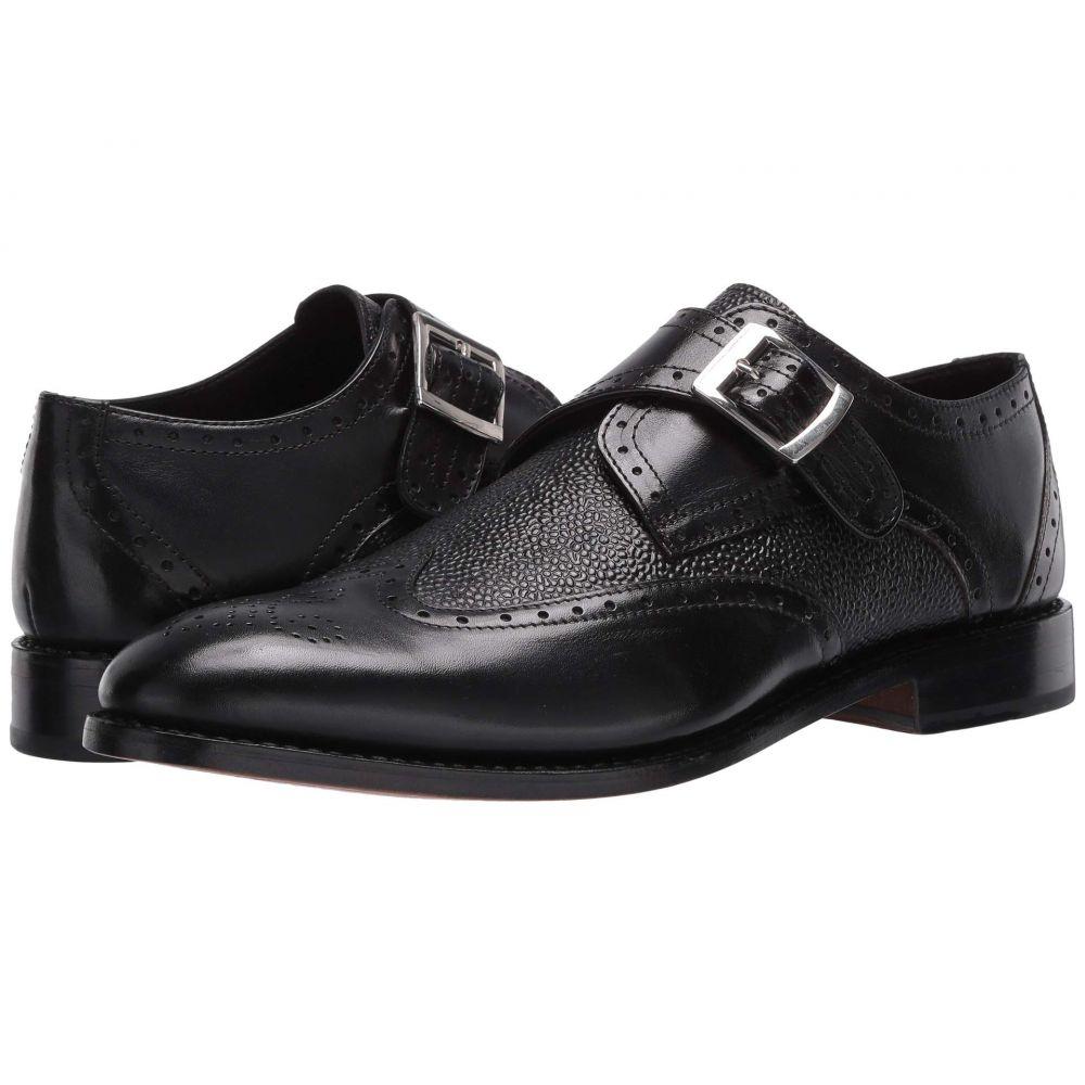 アンソニー ヴィア Anthony Veer メンズ 革靴・ビジネスシューズ ウイングチップ モンクストラップ シューズ・靴【Roosevelt III Wing Tip Monk Strap】Black