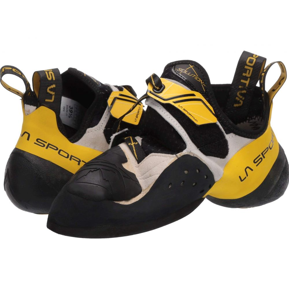 ラスポルティバ La Sportiva メンズ ハイキング・登山 シューズ・靴【Solution】White/Yellow
