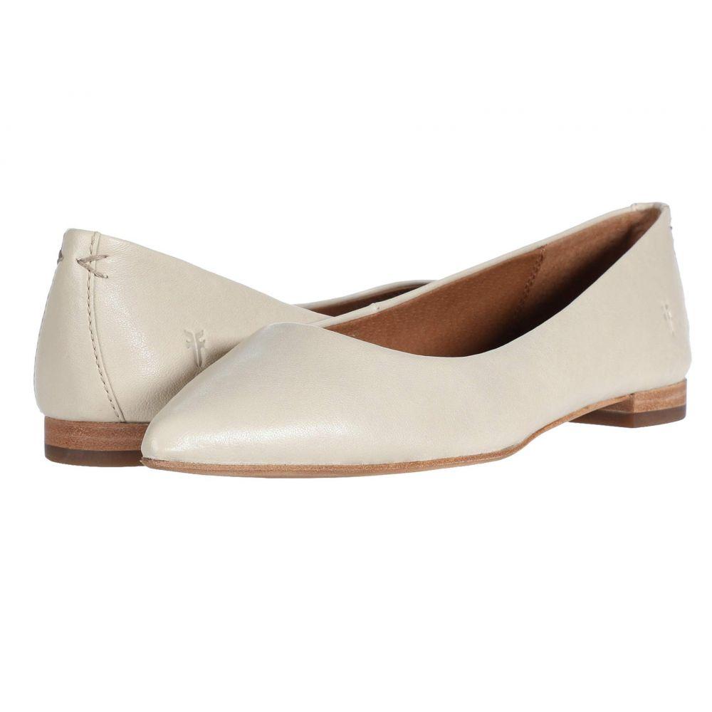 フライ Frye レディース スリッポン・フラット シューズ・靴【Sienna Ballet】Off-White Oiled Vintage