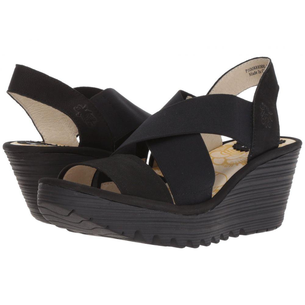 Cupido シューズ・靴【YAJI888FLY】Black LONDON フライロンドン サンダル・ミュール FLY レディース