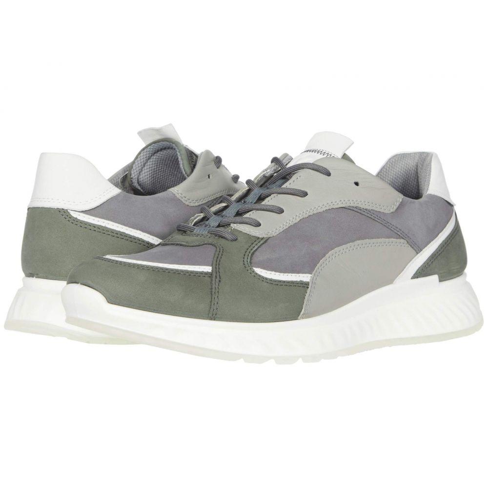 エコー ECCO メンズ スニーカー シューズ・靴【ST1 Trend Sneaker】Lake/White/Titanium/Wild Dove