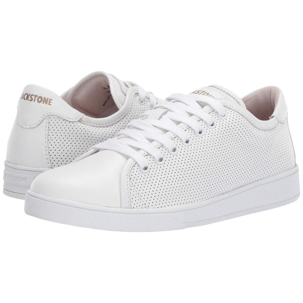 ブラックストーン Blackstone レディース スニーカー ローカット シューズ・靴【Low Sneaker Perf - RL72】White