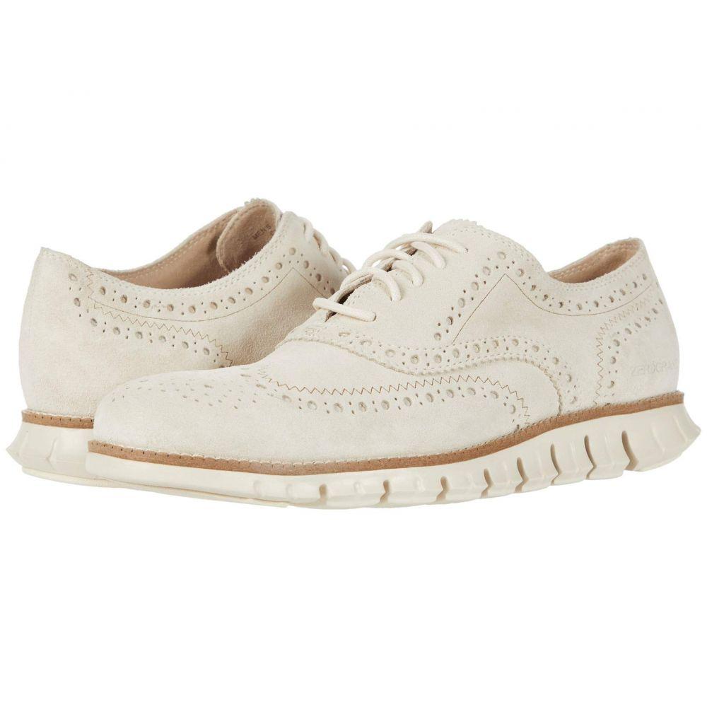 コールハーン Cole Haan メンズ 革靴・ビジネスシューズ ウイングチップ シューズ・靴【Zerogrand Wing Tip Oxford】Ivory Suede/Ivory