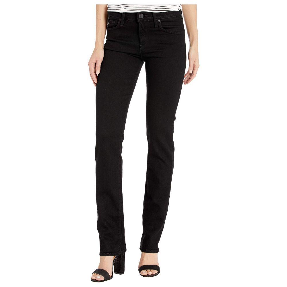 ハドソンジーンズ Hudson Jeans レディース ジーンズ・デニム ボトムス・パンツ【Nico Mid-Rise Straight in Black】Black