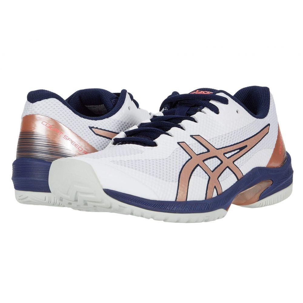 アシックス ASICS レディース シューズ・靴 【Court Speed FF】White/Rose Gold