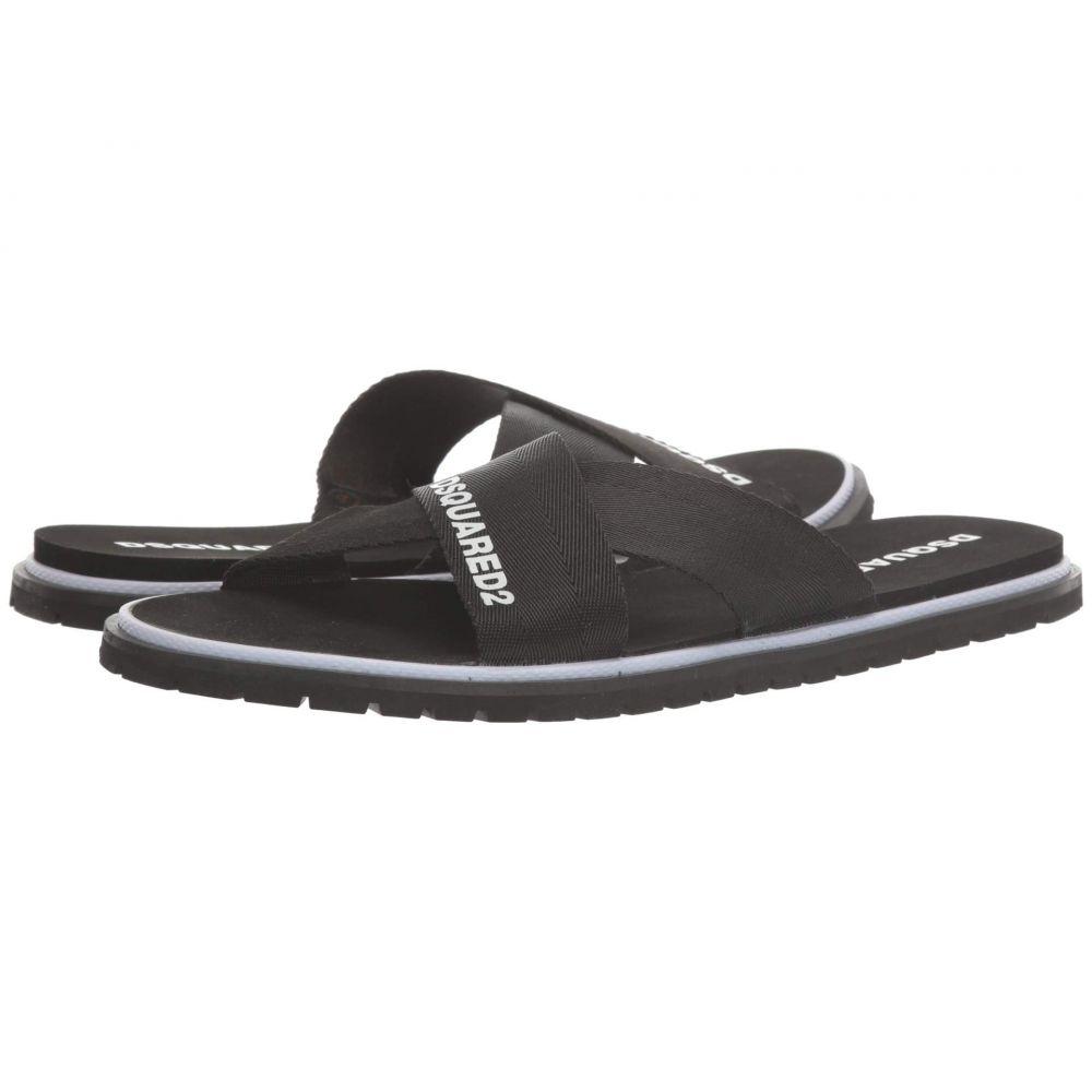 ディースクエアード DSQUARED2 メンズ サンダル シューズ・靴【Carioca Flip-Flop】Black