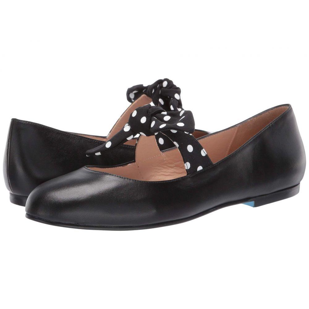 フレンチソール French Sole レディース スリッポン・フラット シューズ・靴【Dotty】Black Leather/Polka Dot