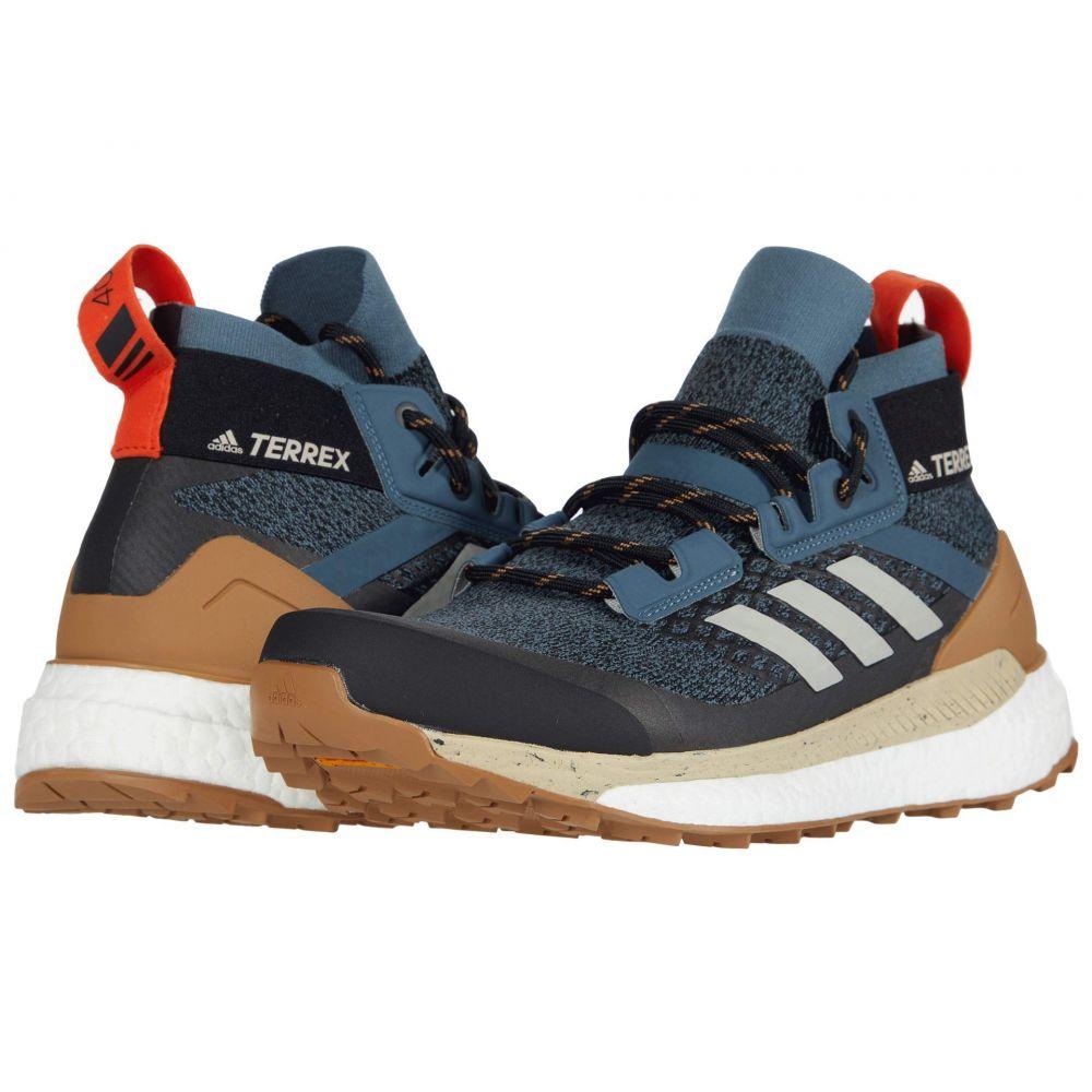 アディダス adidas Outdoor メンズ ハイキング・登山 シューズ・靴【Terrex Free Hiker】Legacy Blue/Metal Grey/Raw Desert