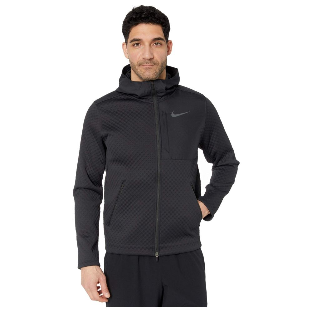 ナイキ Nike メンズ ジャケット フード アウター【Thermasphere Max Jacket Hooded Full Zip】Black/Black/Dark Grey