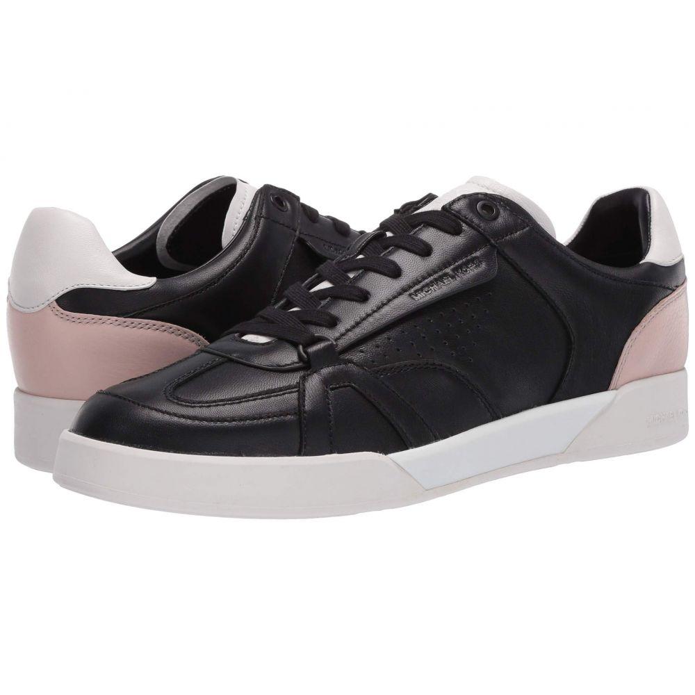 マイケル コース Michael Kors メンズ スニーカー シューズ・靴【Adrian】Black/Soft Pink/Optic White