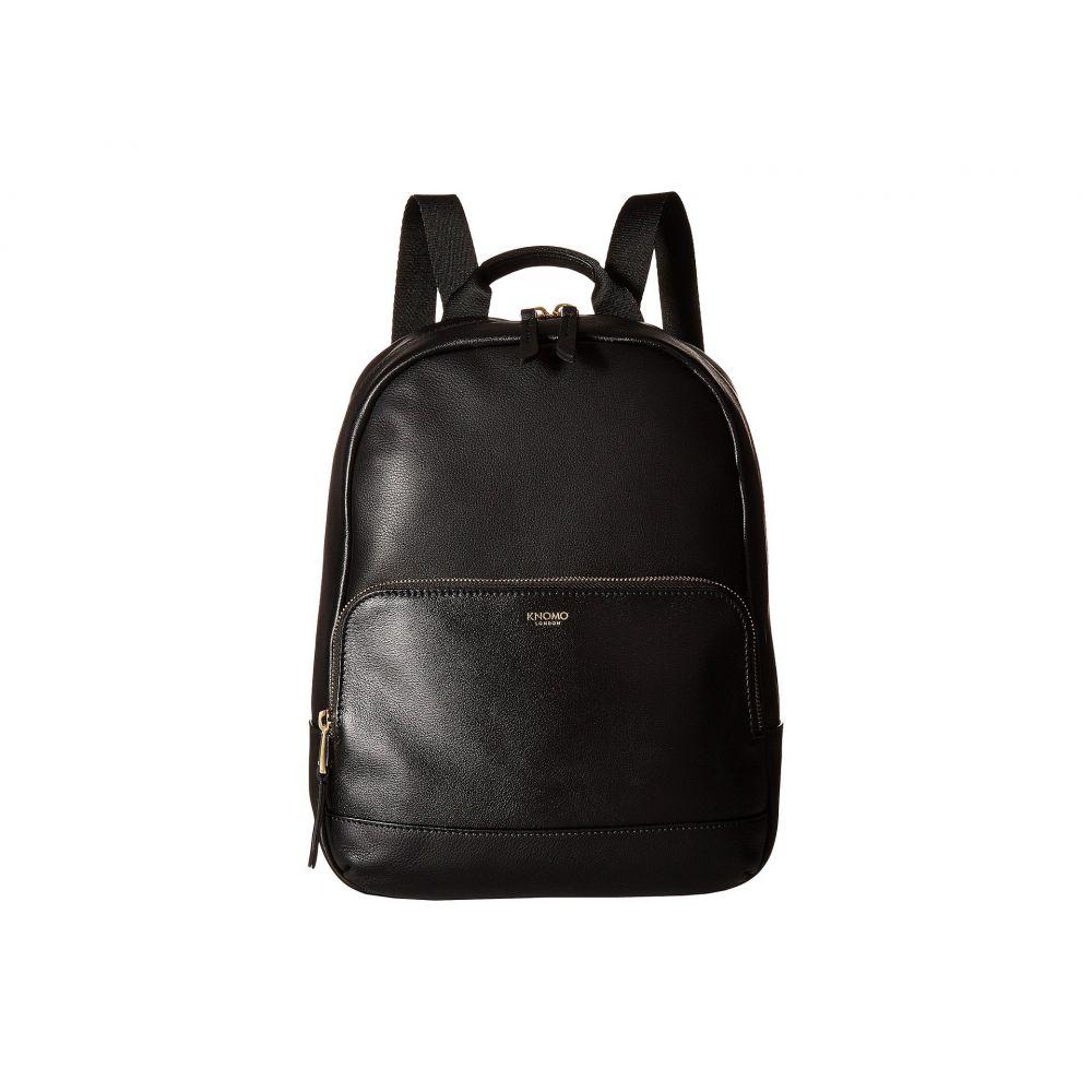 モノ KNOMO London レディース バックパック・リュック バッグ【Mayfair Luxe Mini Mount Backpack】Black