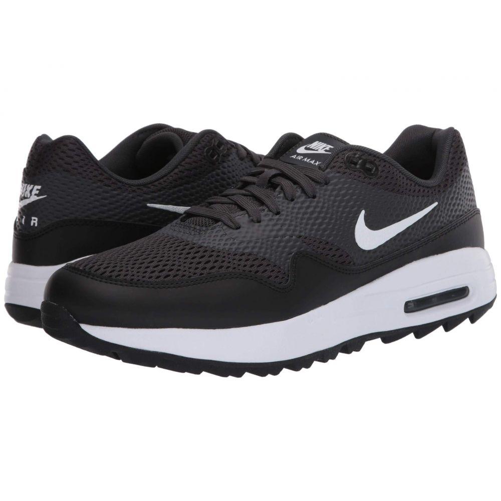 ナイキ Nike Golf メンズ シューズ・靴 【Air Max 1G】Black/White/Anthracite/White