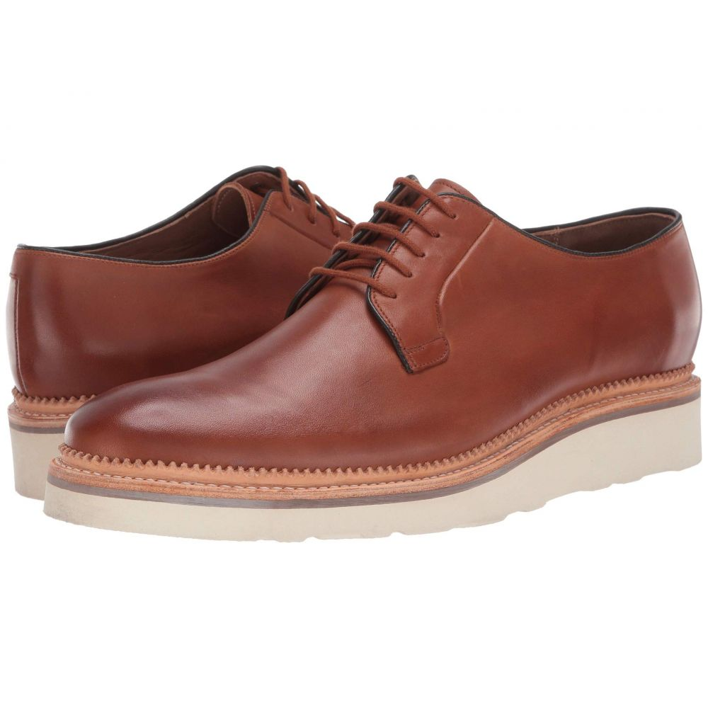 ボストニアン Bostonian メンズ 革靴・ビジネスシューズ ウェッジソール シューズ・靴【Rhodes Wedge】Dark Tan Leather