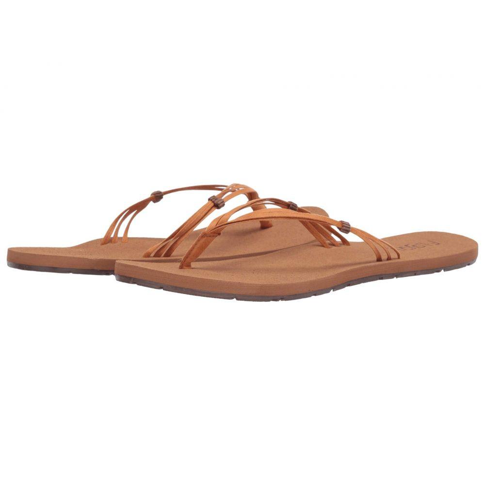 フロジョス Flojos レディース ビーチサンダル シューズ・靴【Unity】Tan