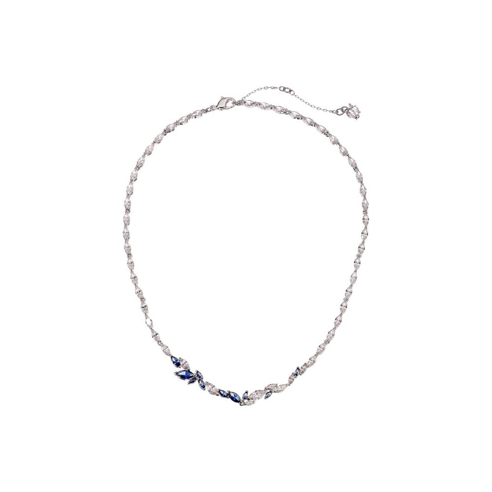 スワロフスキー Swarovski レディース ネックレス ジュエリー・アクセサリー【Louison Necklace】CZ Sapphire Blue Dark