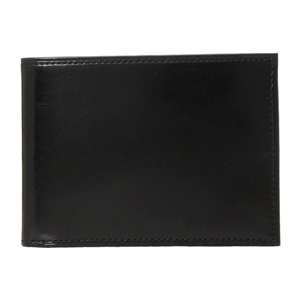 ボスカ Bosca メンズ 財布 【Old Leather Collection - Credit Wallet w/ ID Passcase】Black Leather