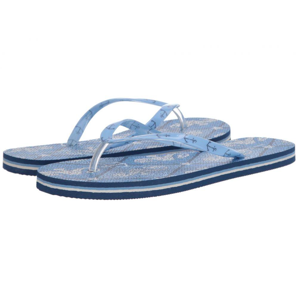 ヴェラ ブラッドリー Vera Bradley レディース ビーチサンダル シューズ・靴【Flip Flops】Seahorse Stamp