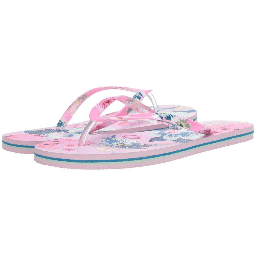 ヴェラ ブラッドリー Vera Bradley レディース ビーチサンダル シューズ・靴【Flip Flops】Rosy Garden Picnic