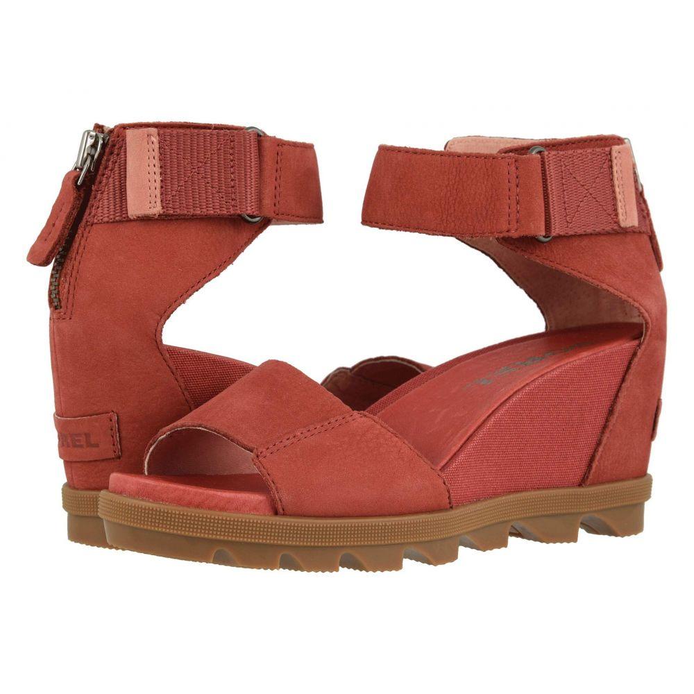 ソレル SOREL レディース ヒール アンクルストラップ シューズ・靴【Joanie(TM) II Ankle Strap】Dusty Crimson