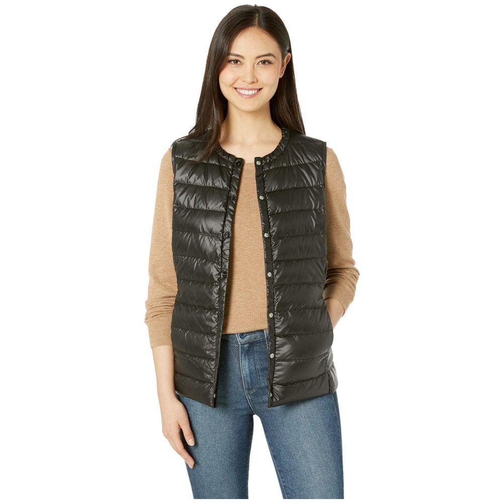 ラルフ ローレン LAUREN Ralph Lauren レディース ベスト・ジレ ダウンベスト トップス【Packable Soft Down Vest】Black