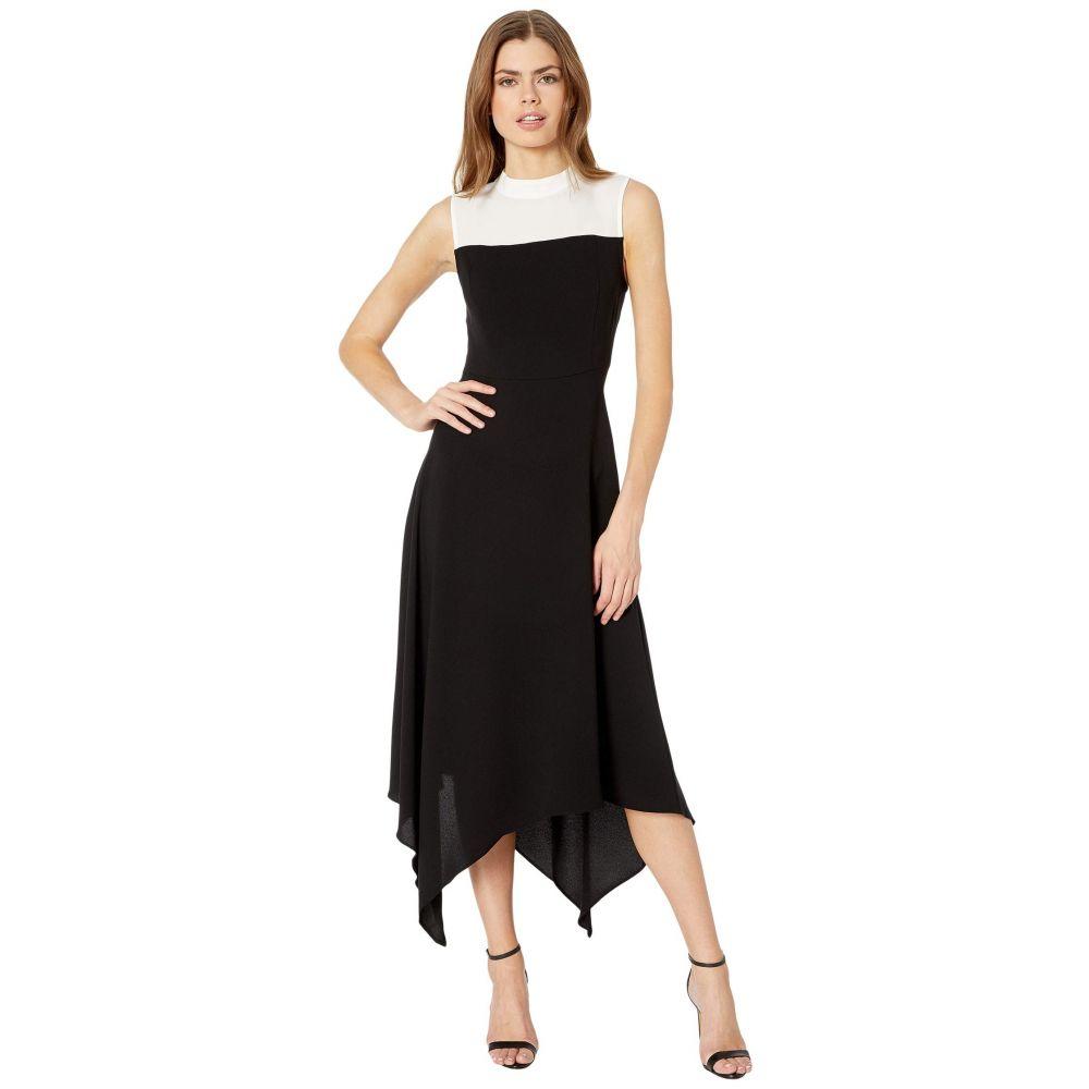 ビーシービージーマックスアズリア BCBGMAXAZRIA レディース ワンピース ワンピース・ドレス【Color-Block Dress】Black