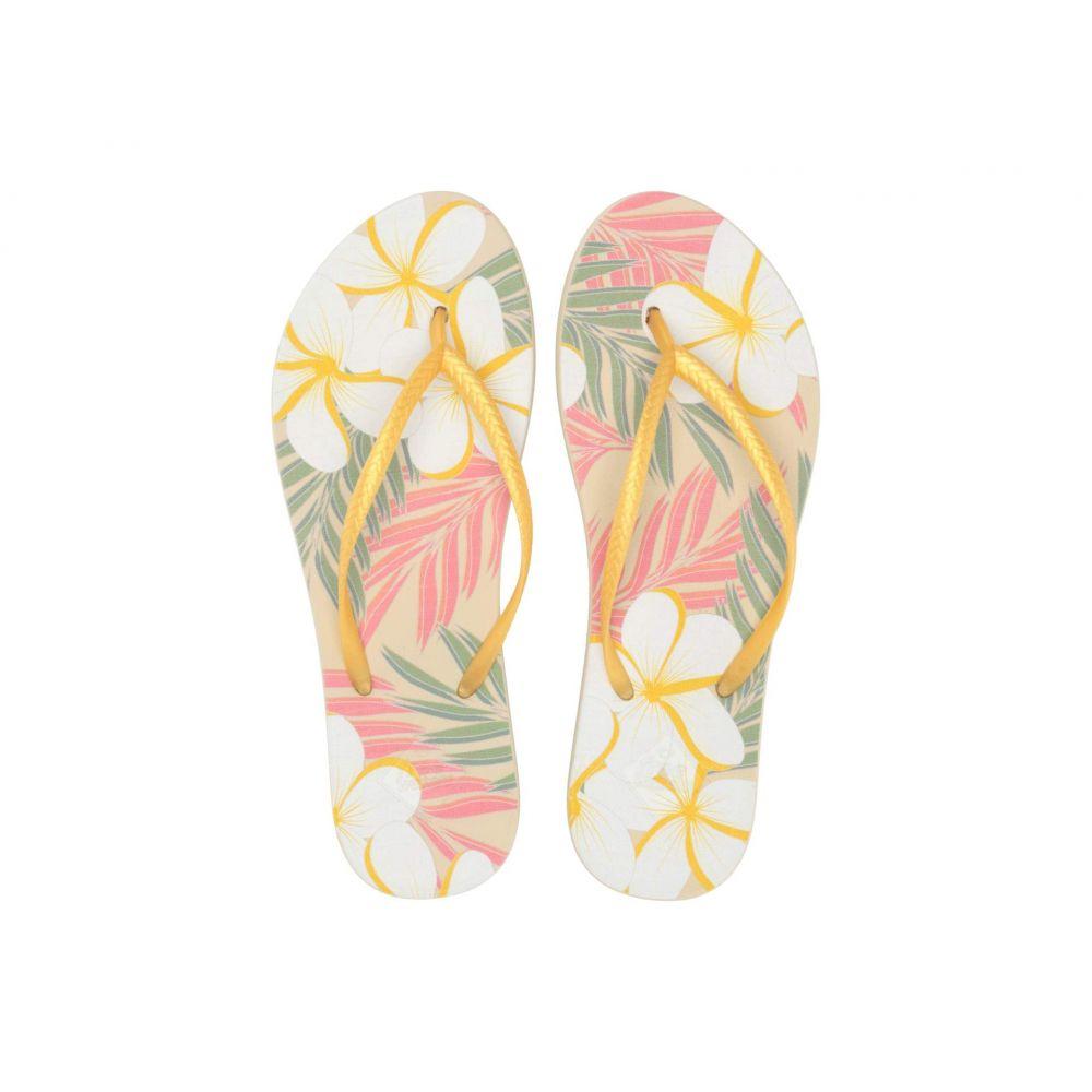 フリーウォータース Freewaters レディース ビーチサンダル シューズ・靴【Becca Print】Plumeria Print